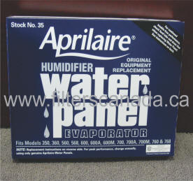 humidifier filter water panel 35