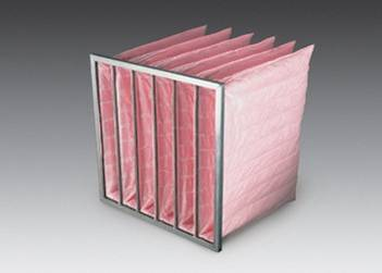 hvac commerical pocket filters ideal for hospitals, automotive plants and biotechnology facilities